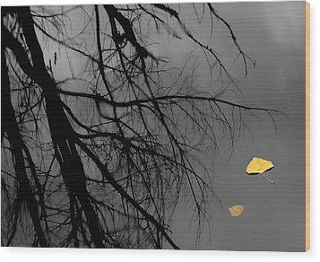 Departed Wood Print