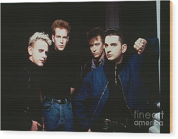 Depeche Mode Wood Print