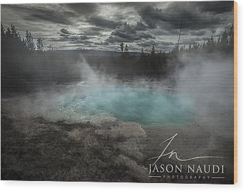 Wood Print featuring the photograph Depth by Jason Naudi