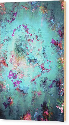 Depths Of Emotion - Abstract Art Wood Print