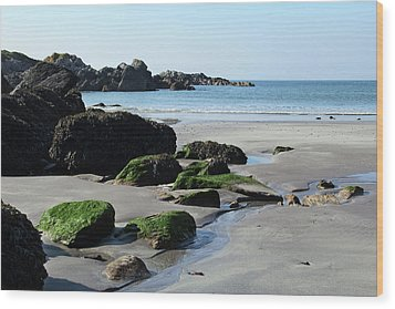 Derrynane Beach Wood Print by Marie Leslie