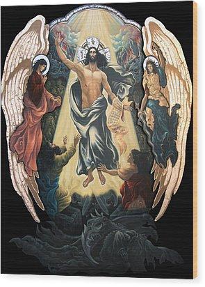 Descend To Hell Wood Print by Iosif Ioan Chezan