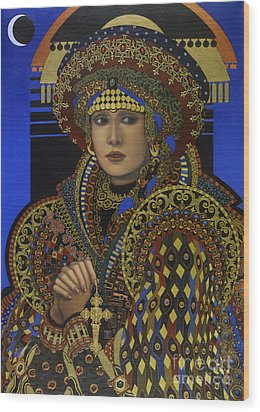 Desdemona Wood Print by Jane Whiting Chrzanoska