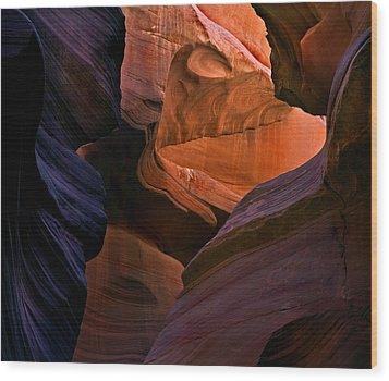 Desert Bridge Wood Print by Mike  Dawson