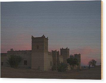 Desert Kasbah Morocco 2 Wood Print