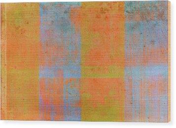 Desert Mirage Wood Print