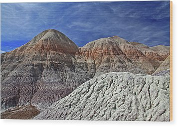 Wood Print featuring the photograph Desert Pastels by Gary Kaylor