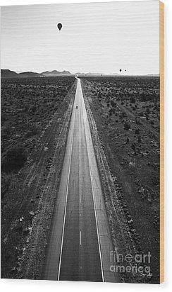 Desert Road Wood Print by Scott Pellegrin