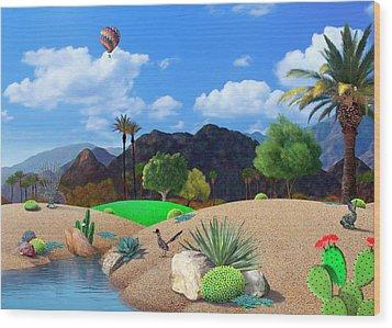 Desert Splendor Wood Print by Snake Jagger