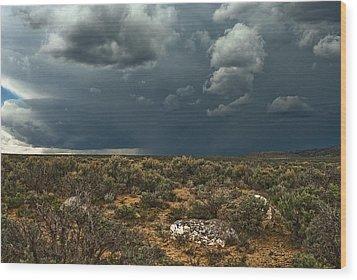 Desert Storm 2 Wood Print