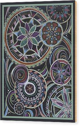 Design 217 F Wood Print