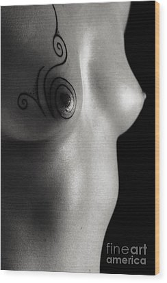Designer Tip Wood Print