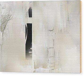 Desiring Dimension Wood Print