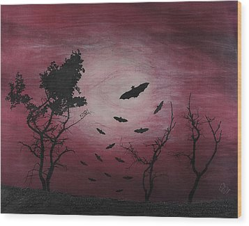 Desolate Wood Print by Arnuda