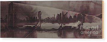 Desolation Wood Print