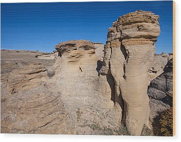 Wood Print featuring the photograph Destination Hoodoos by Fran Riley