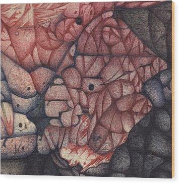 Detail Twenty One Wood Print