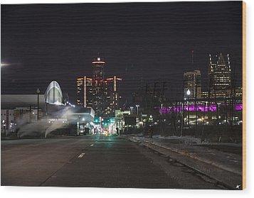 Wood Print featuring the photograph Detroit Michigan by Nicholas Grunas