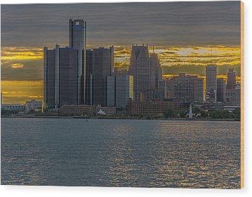 Detroit Versus Everybody  Wood Print