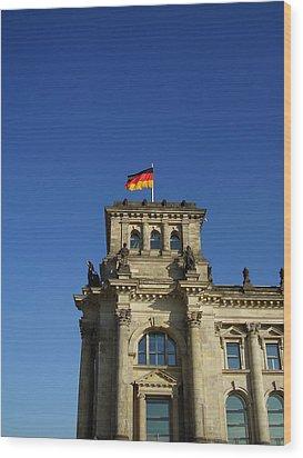 Deutscher Bundestag II Wood Print