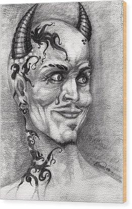 Devil May Cry Wood Print by Alban Dizdari