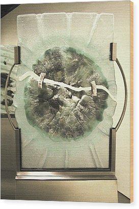Devitrification Wood Print by Sarah King