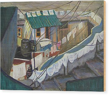 Dhobi Wood Print