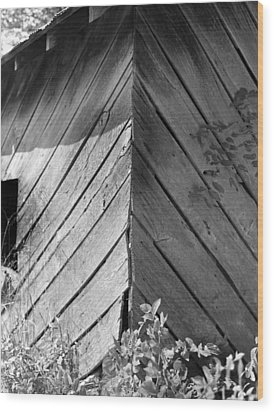 Diagonals Wood Print