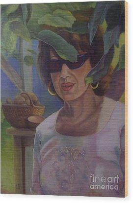 Dianne Wood Print by Marlene Book