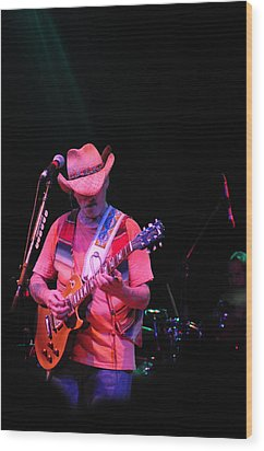 Wood Print featuring the photograph Dickie Betts by Mike Martin