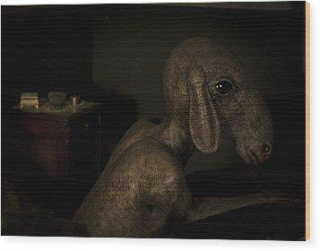 Diego Wood Print by Francesca Dalla benetta