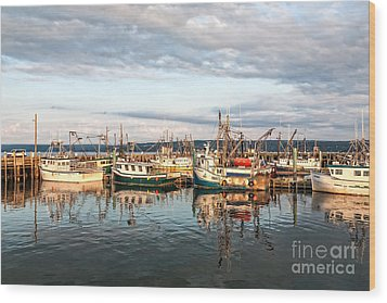 Digby Harbour Wood Print