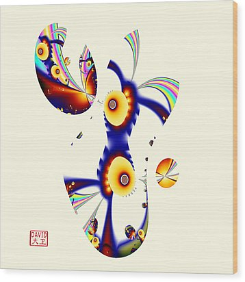 Digital Picasso - David Wood Print by David Jenkins