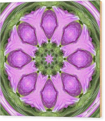 Digitalis 1563k8 Wood Print by Brian Gryphon