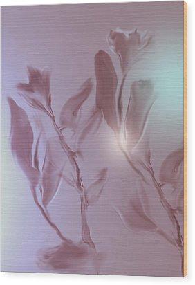 Digitized 2 Wood Print by John Krakora