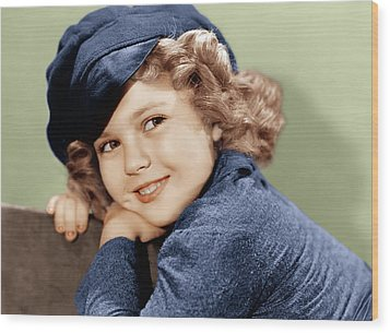 Dimples, Shirley Temple, 1936 Wood Print