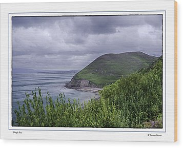 Dingle Bay Wood Print by R Thomas Berner