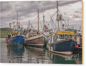 Dingle Harbour Wood Print