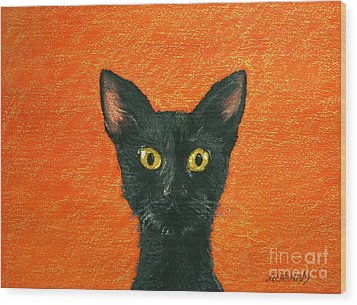 Dinner? Wood Print by Marna Edwards Flavell