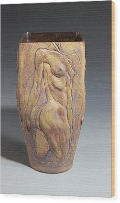 Dionysos Inspirer Of Ritual Ecstasy IIi Wood Print by Dan Earle