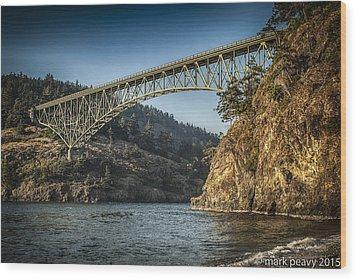 Disappointment Bridge Wood Print