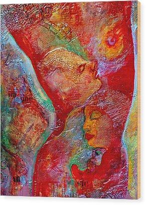 Disassembled Wood Print by Claudia Fuenzalida Johns