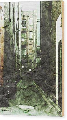 Discounted Memory Wood Print by Andrew Paranavitana