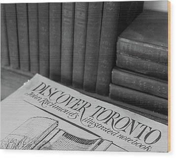 Discover Toronto Wood Print
