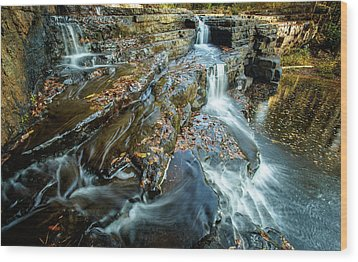 Dismal Creek Falls #2 Wood Print