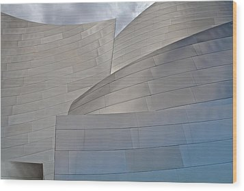 Wood Print featuring the photograph Disney Concert Hall by Kim Wilson