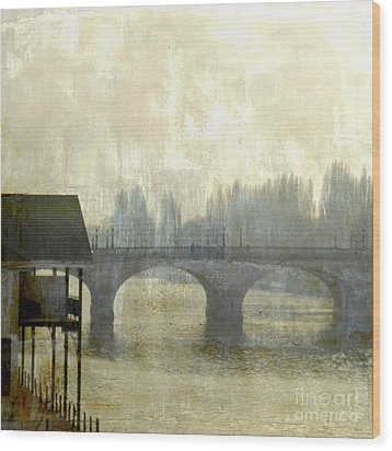 Wood Print featuring the photograph Dissolving Mist by LemonArt Photography
