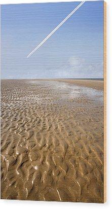 Distant Horizon Wood Print by Mal Bray