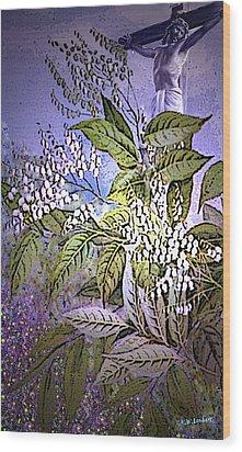 Divine Wood Print by Kenneth Lambert