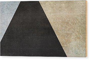 Division Wood Print by Brett Pfister